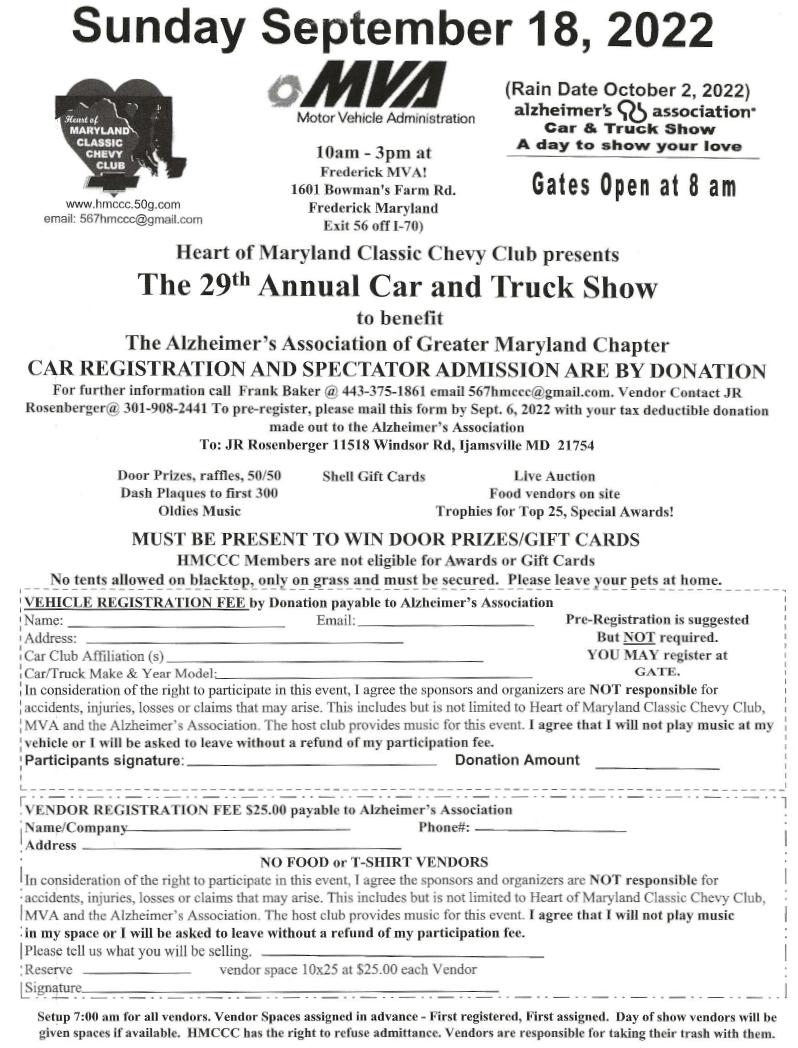 Motor vehicle administration frederick md for Washington state motor vehicle emission inspection station