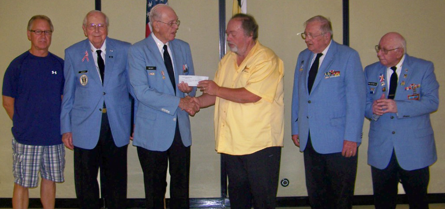 Check Presentation - Korean War Veterans Association