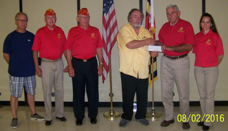 Check Presentation - Shangri - La Detachment US Marine Corps